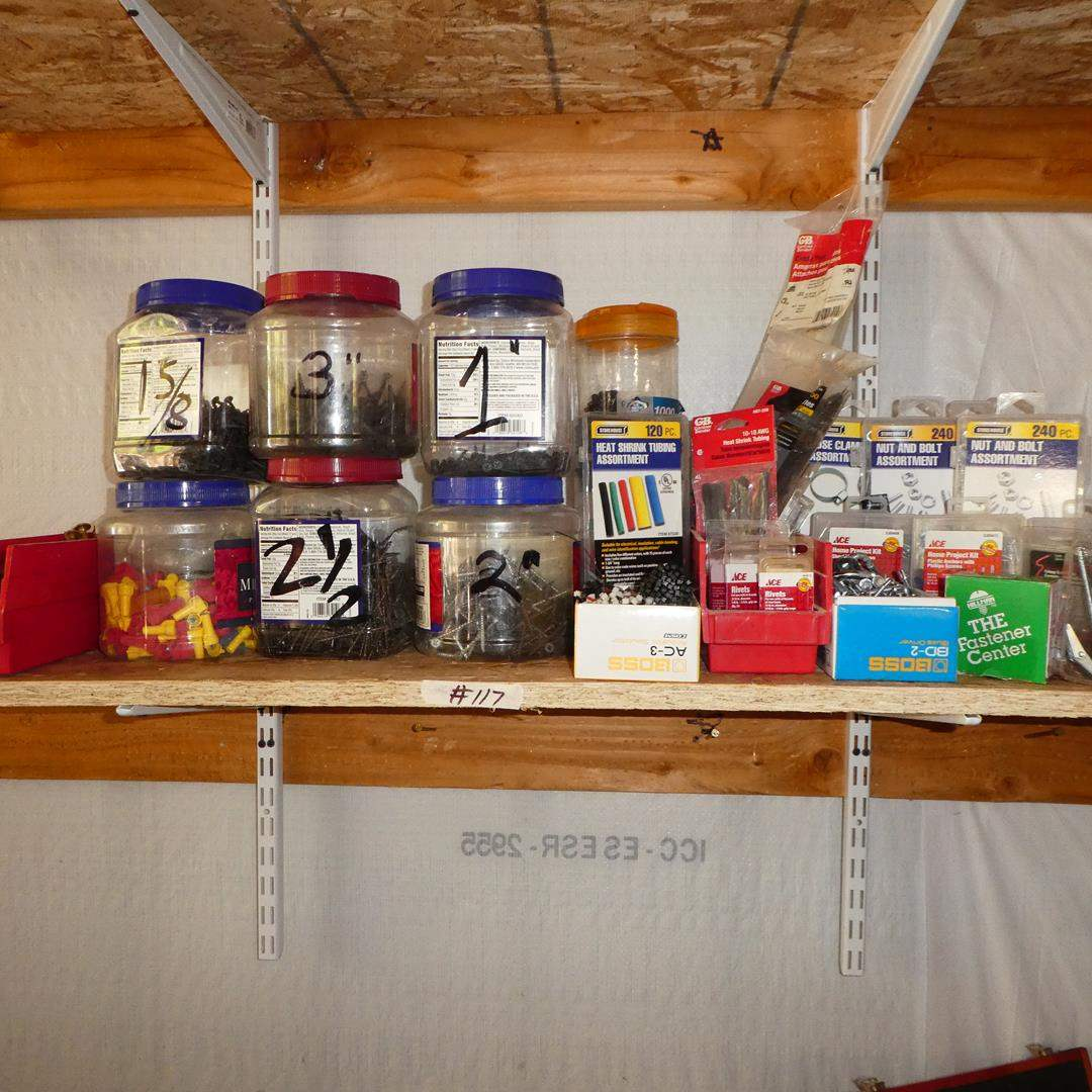 Lot # 117 - Assorted Hardware