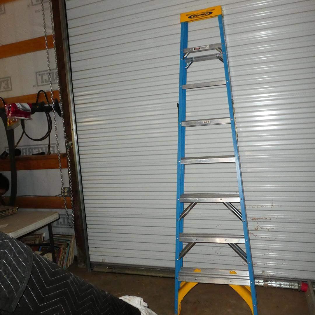 Lot # 123 - Werner 8' Ladder