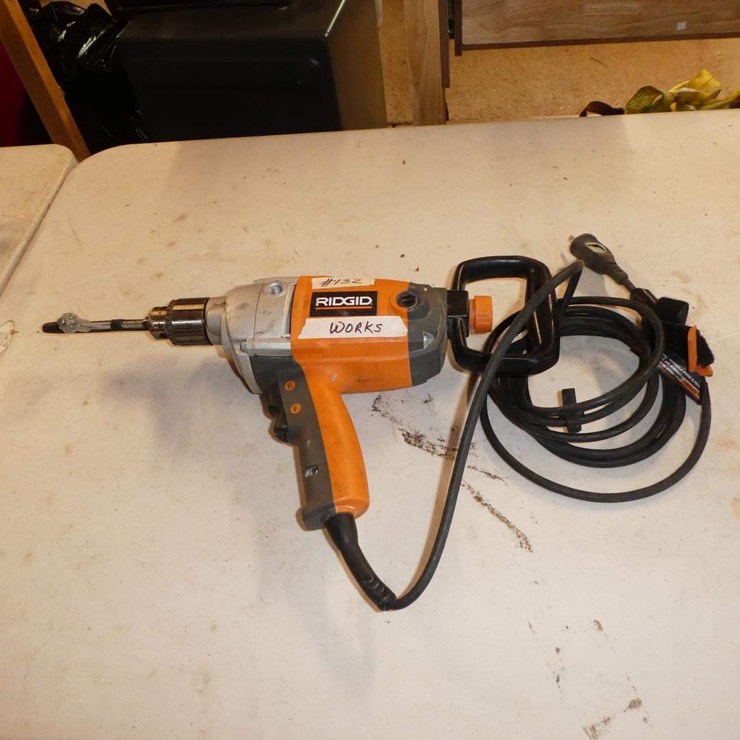 Lot # 132 - RIDGID Electric Drill (main image)