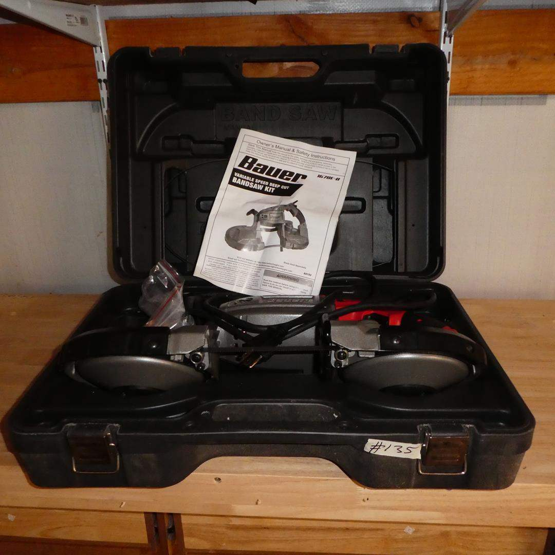 Lot # 135 - Bauer Variable Speed Deep Cut Bandsaw Kit