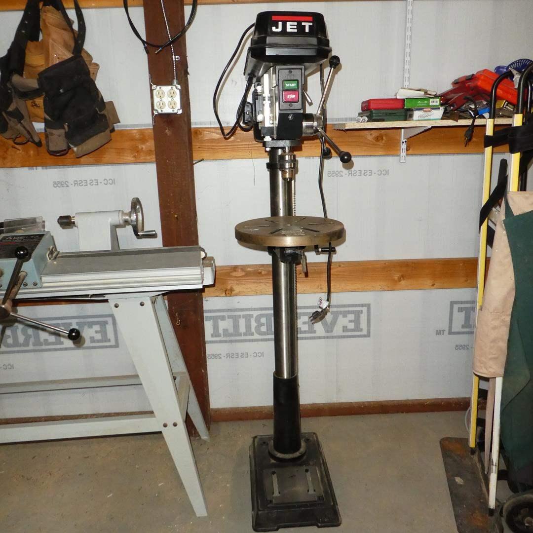 Lot # 138 - JET Free Standing Drill Press (main image)