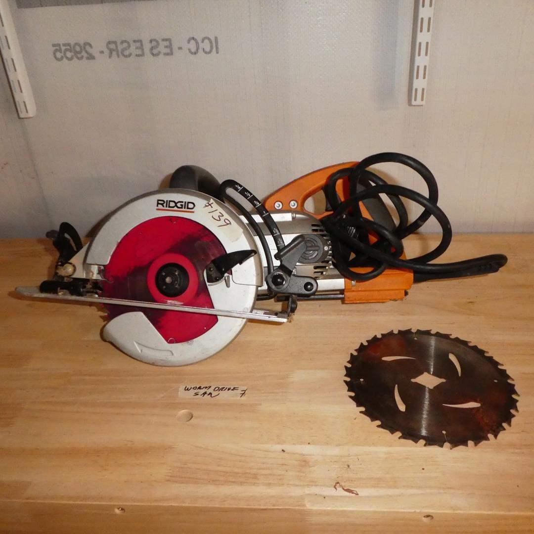 Lot # 139 - RIDGID Worm Drive Circular Saw (main image)
