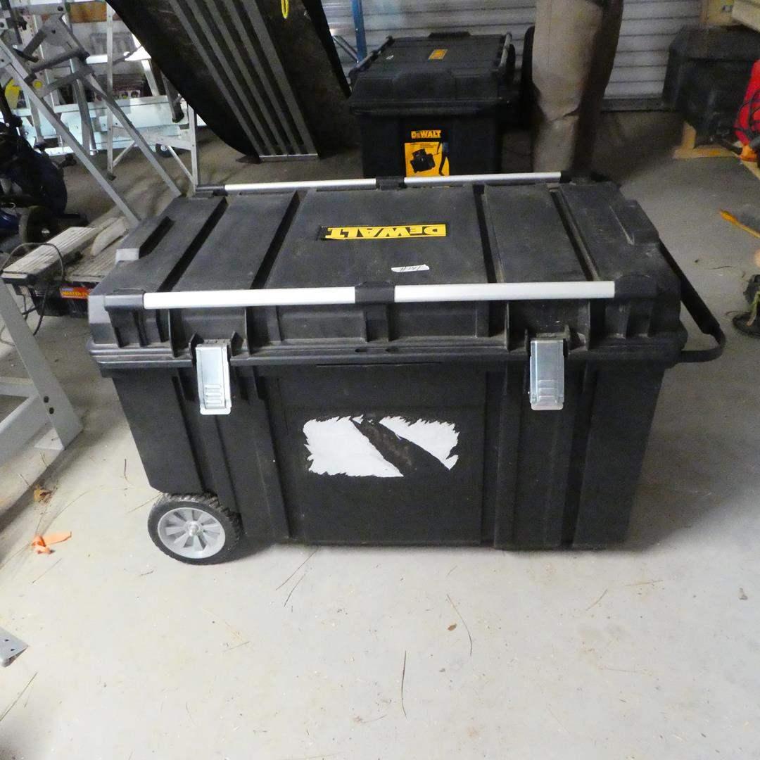 Lot # 141 - DeWalt Mobile Tool Chest
