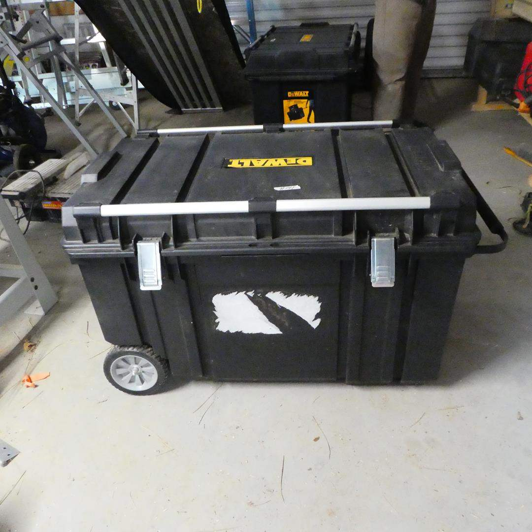 Lot # 141 - DeWalt Mobile Tool Chest (main image)