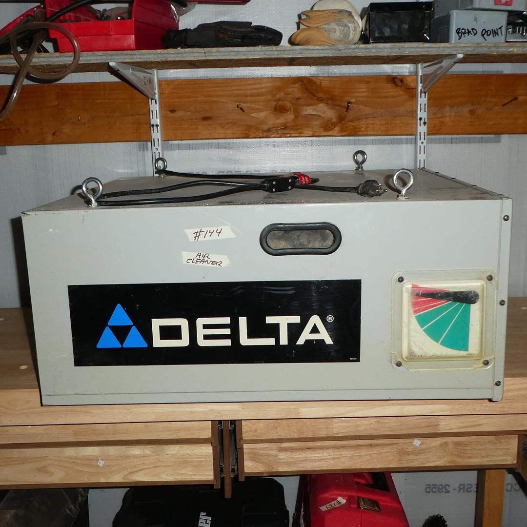 Lot # 144 - DELTA 50-875 3-Speed Air Filtration System (New Filter)