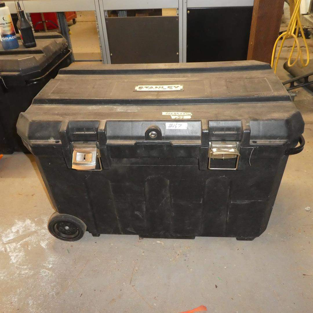 Lot # 167 - Stanley Mobile Tool Chest - No Key (main image)