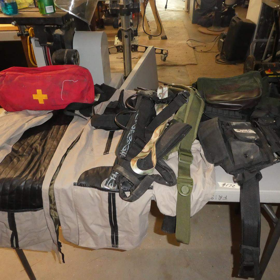 Lot # 172 - First Aid Kit & Tactical Gear