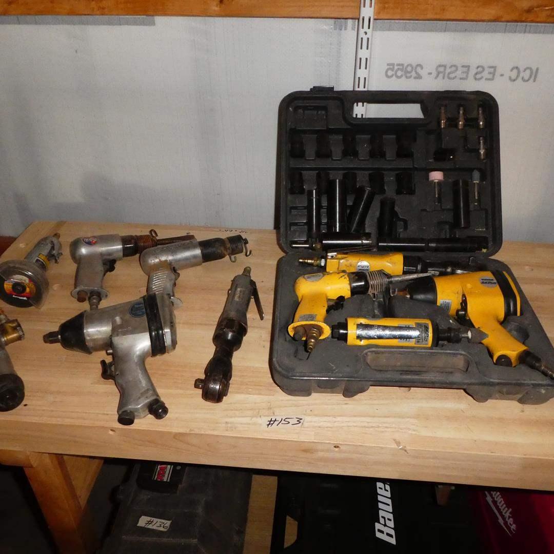 Lot # 153 - Assorted Air Tools (main image)