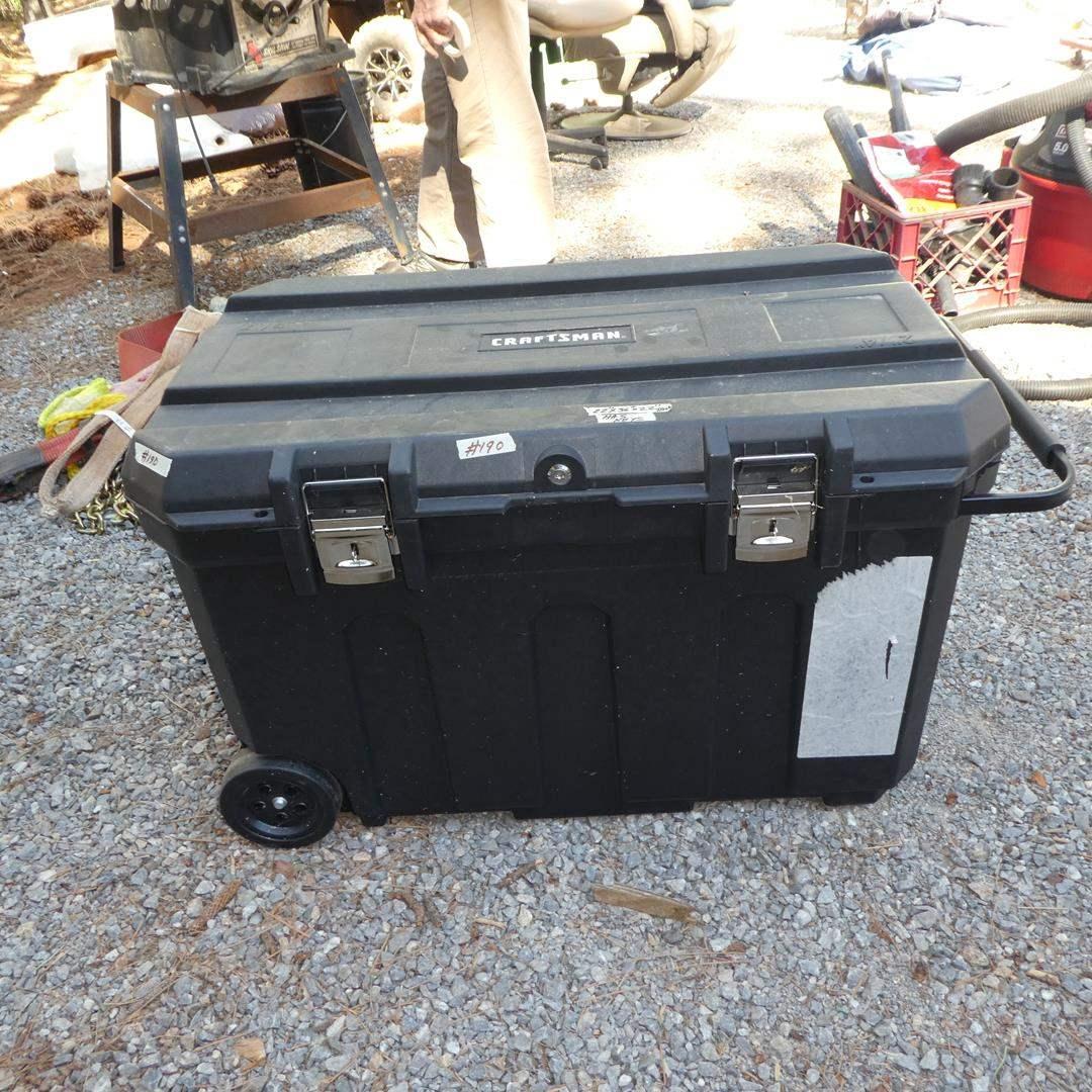 Lot # 190 - Craftsman Mobile Tool Chest w/Keys (main image)