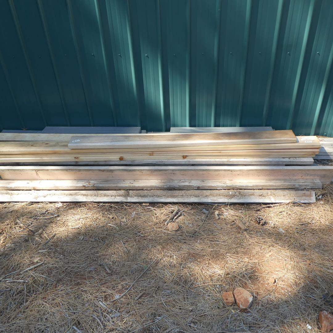 Lot # 197 - Misc. Lumber