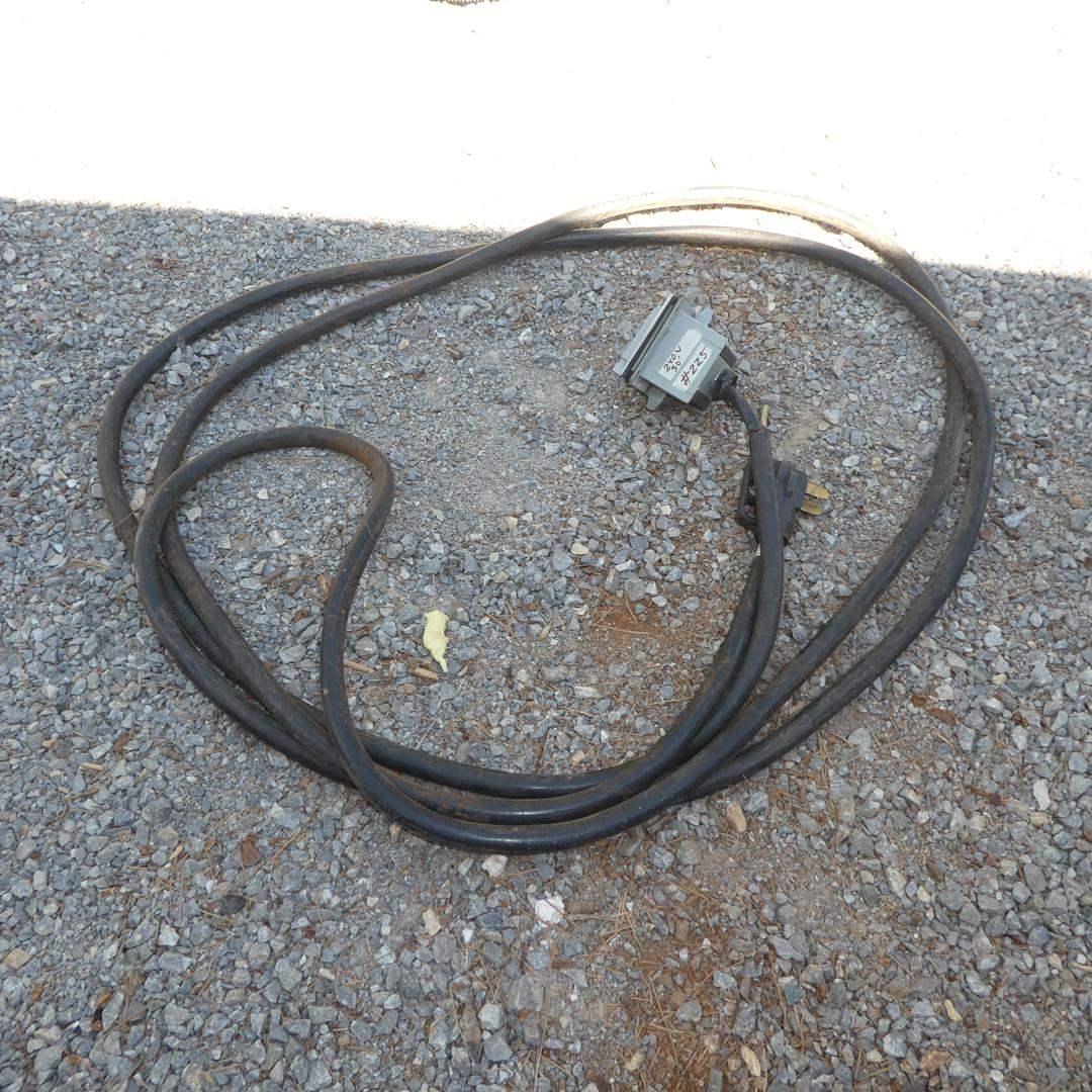 Lot # 225 - 240 Volt Extension Cord Outlet