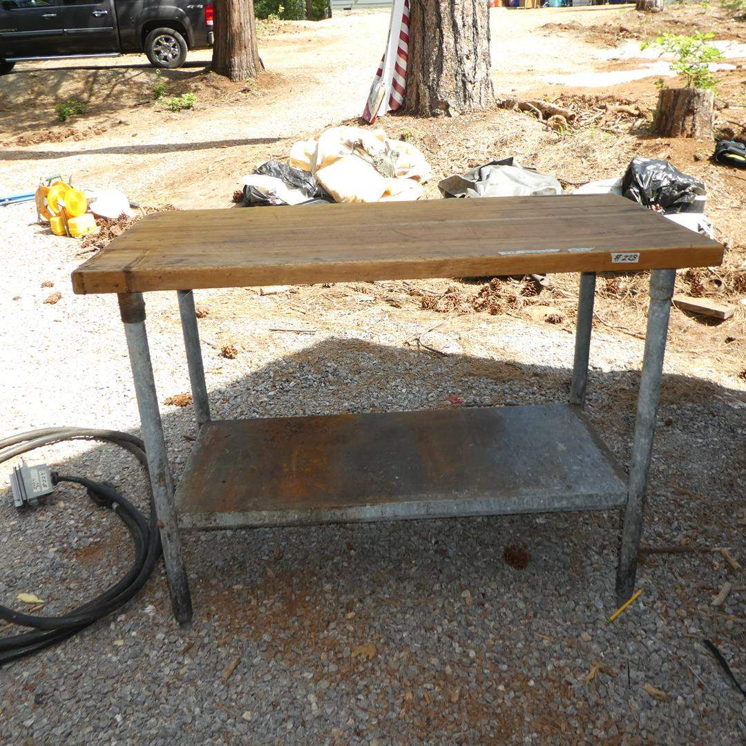 Lot # 228 - Work Table