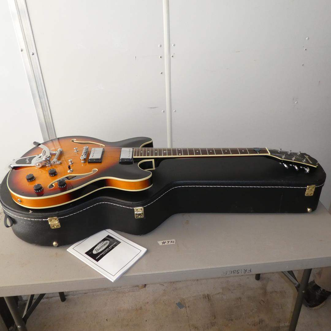 Lot # 332 - Ibanez Electric Guitar w/Hard Case