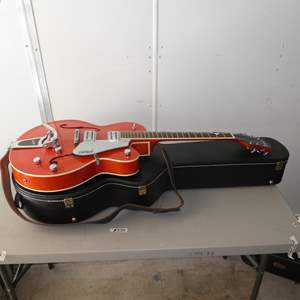 Auction Thumbnail for: Lot # 335 - Gretsch G5120 Electromatic Hollow Body Guitar w/Hard Case