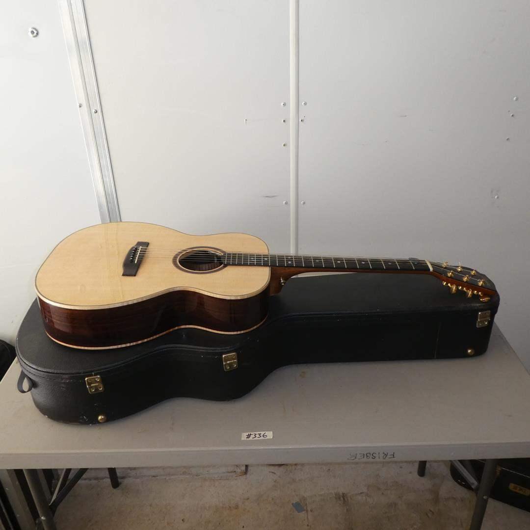 "Lot # 336 - Custom Made ""Praise"" Acoustic Guitar w/Hard Case"