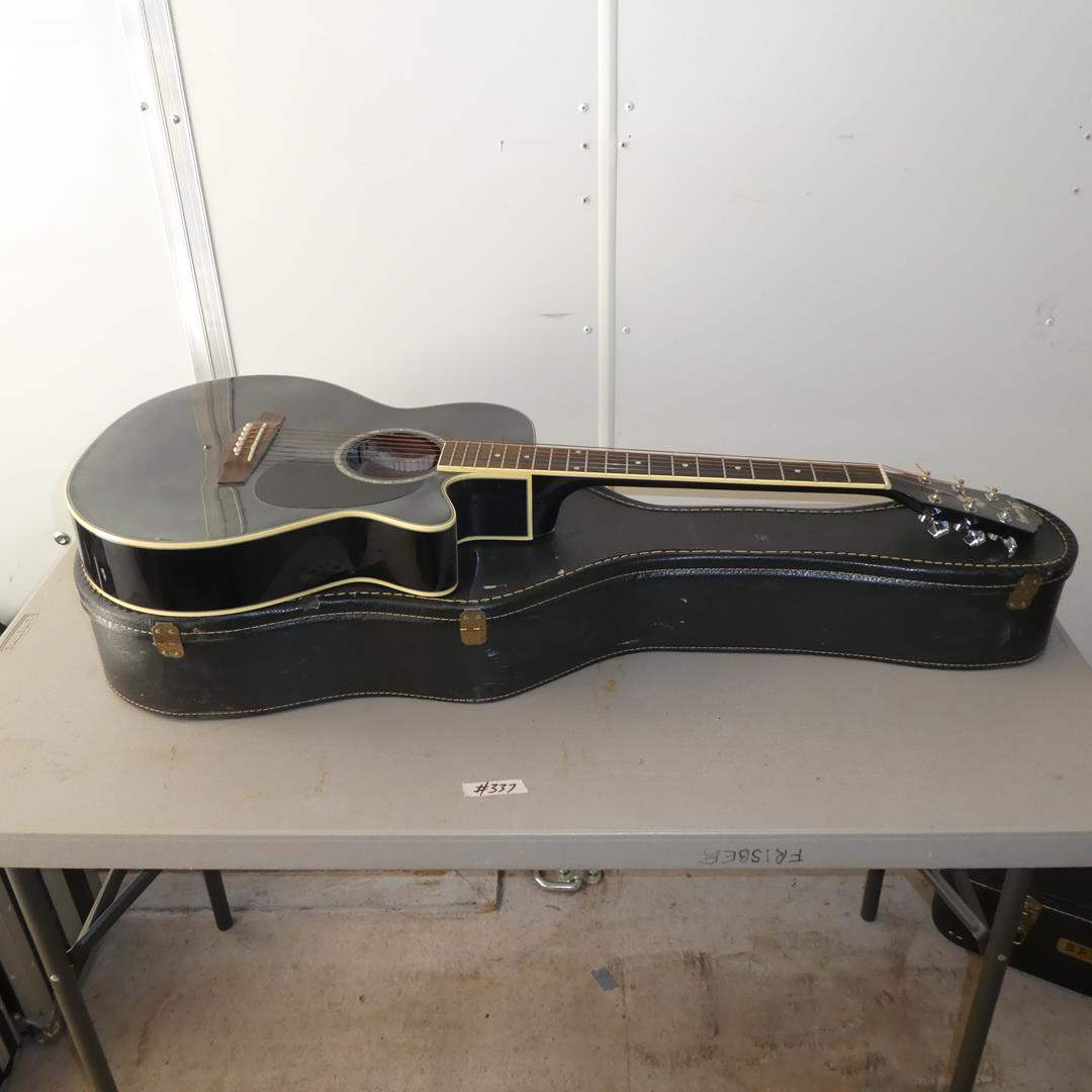Lot # 337 - Ibanez Electric Guitar w/Hard Case