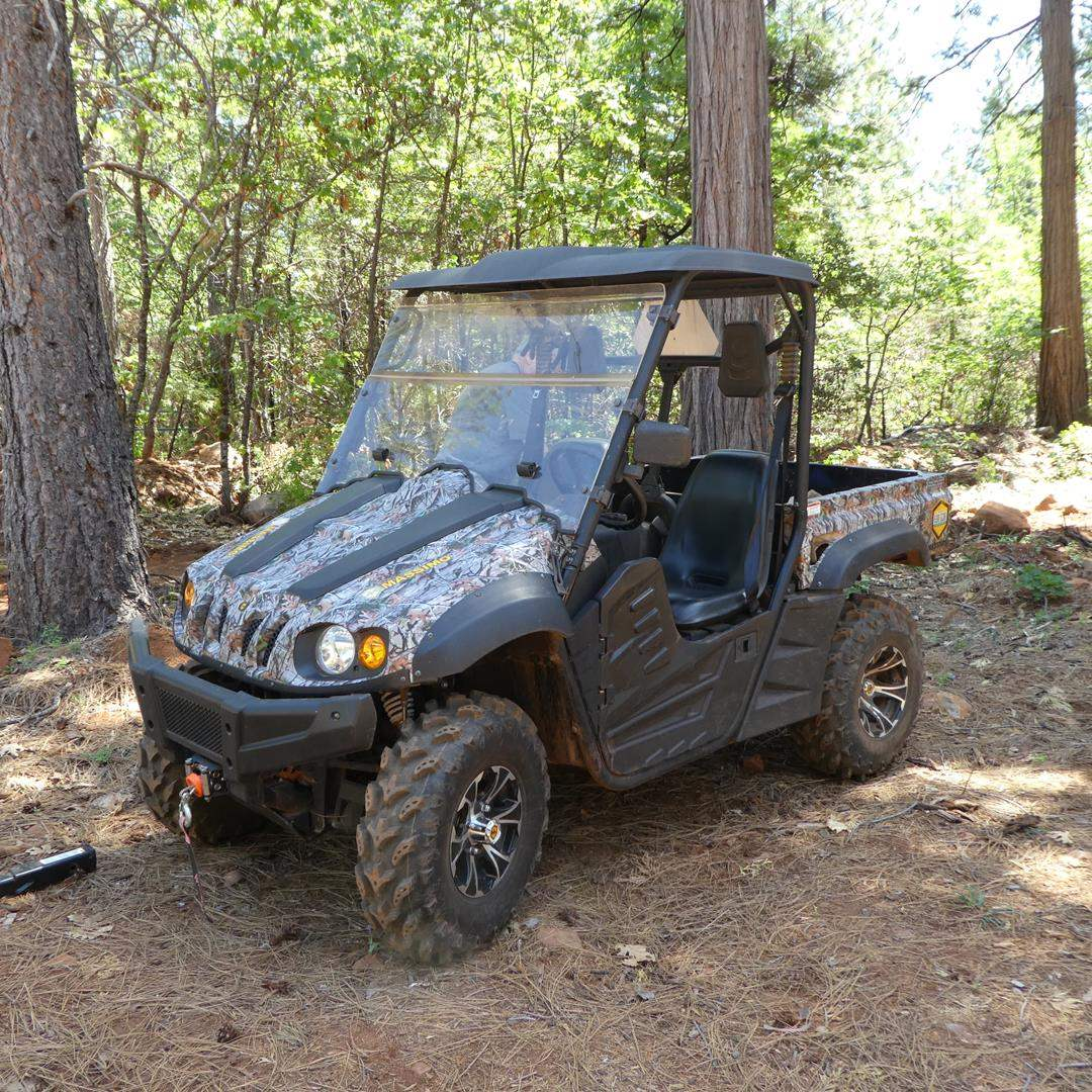 Lot # 339 - 2017 Massimo MSU500 4x4 Off Road Vehicle w/Electric Winch - 51.6 Hours