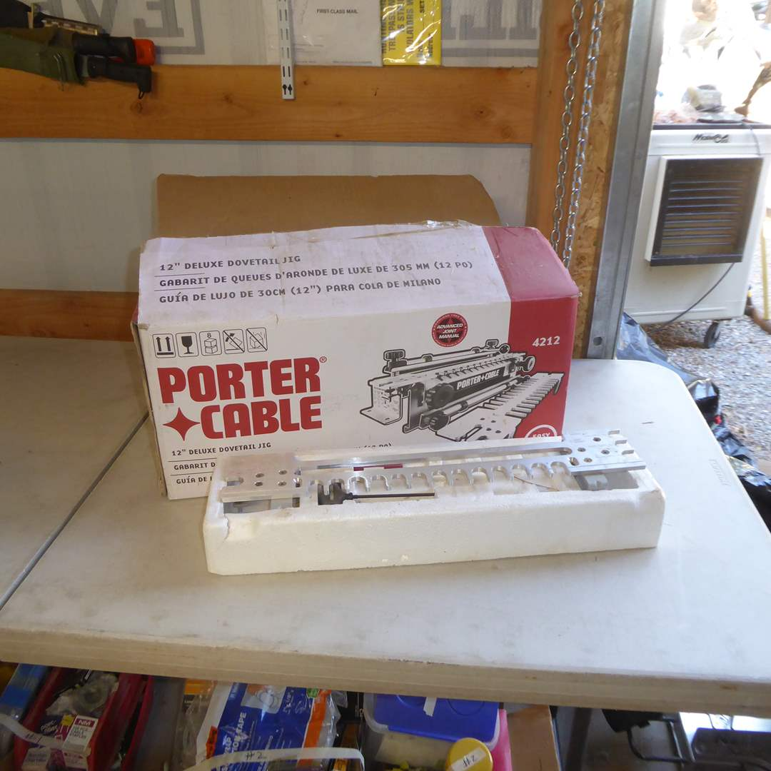 Lot # 4 - Porter Cable Dovetail Jig  (main image)