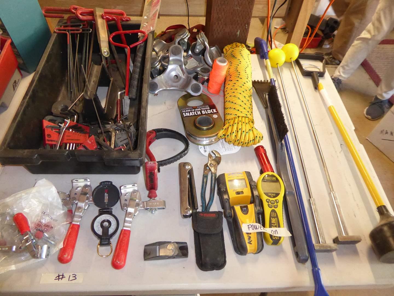 Lot # 13 - Zircon Multi-scanner, 3 Wheel Dollies & Allen Wrenches