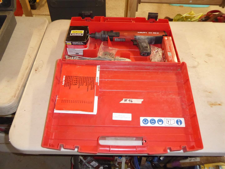 Lot # 46 - HILTI DX 36 M Power Actuating Tool