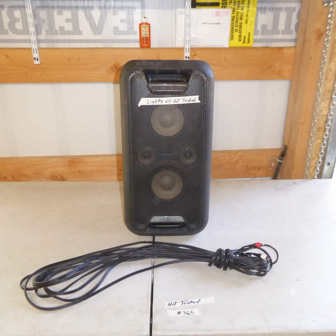 Lot # 365 - Sony GTK-XB5 Bluetooth Party Speaker