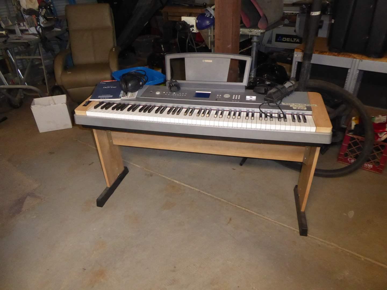 Lot # 375 - Yamaha Portable Grand Piano DGX 640