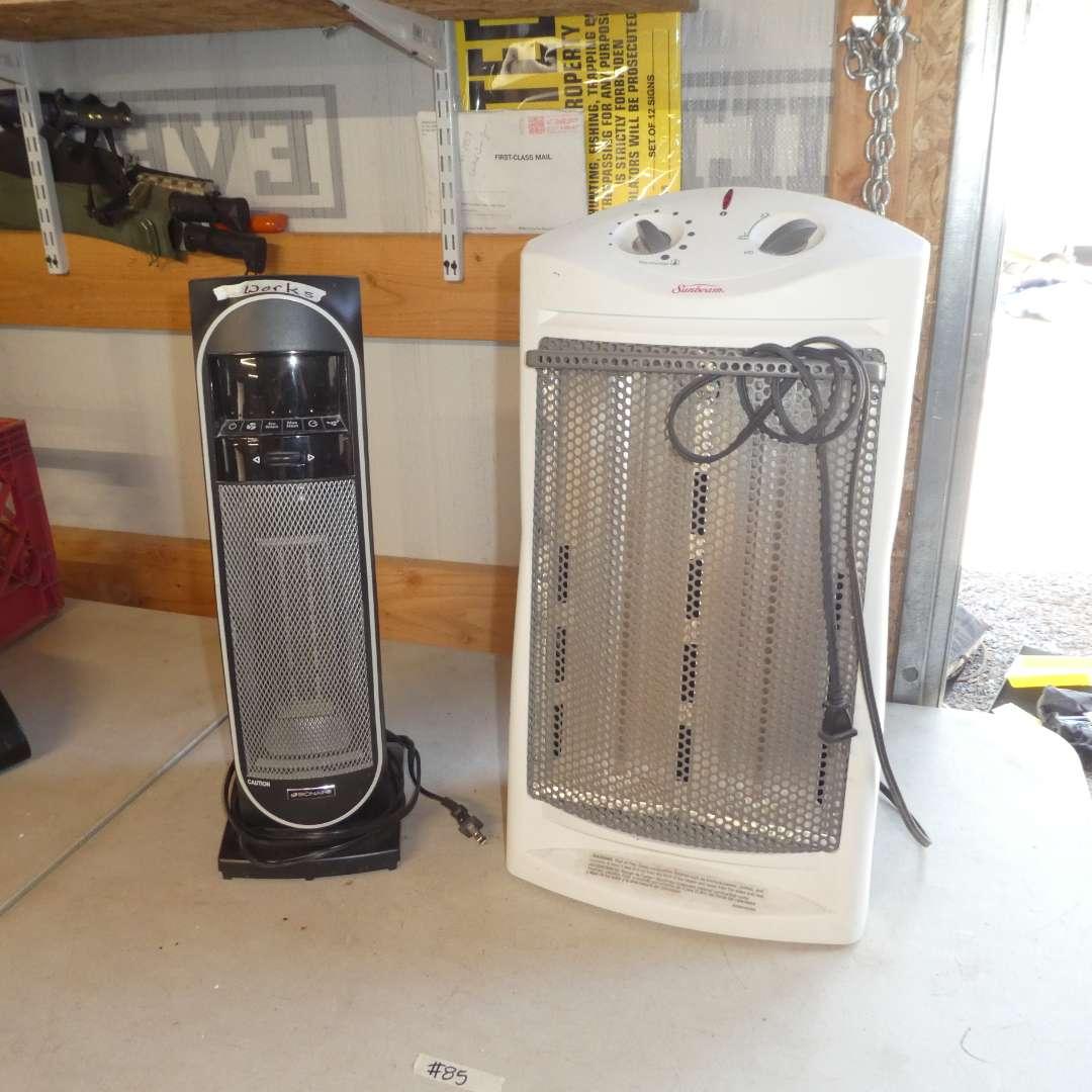 Lot # 85 - Bionaire and Sunbeam Heaters