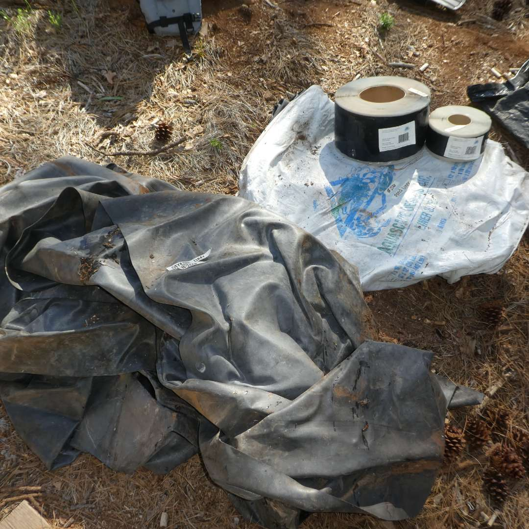 Lot # 206- Pond Liner, Stream Liner and EPDM Cover Tape