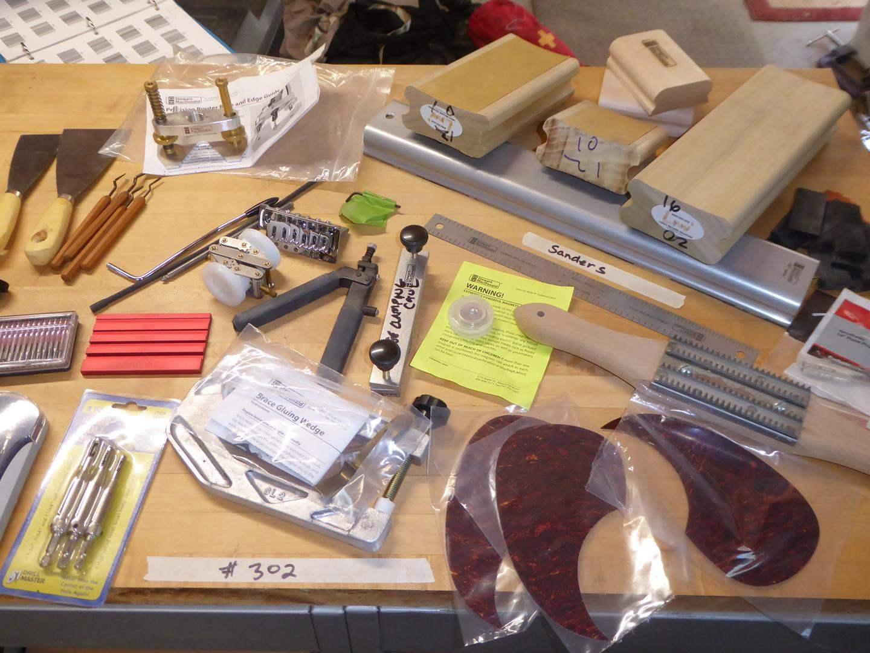 Lot # 302 - Guitar Making Parts & Supplies