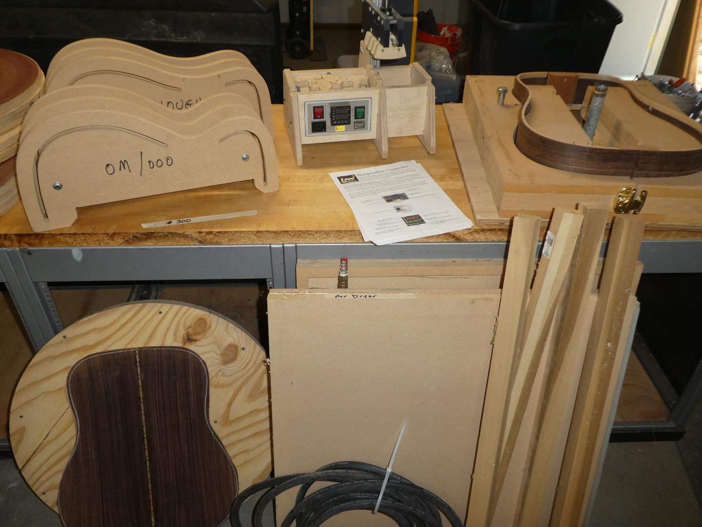 Lot # 300 - Custom Guitar Making Supplies & Tools