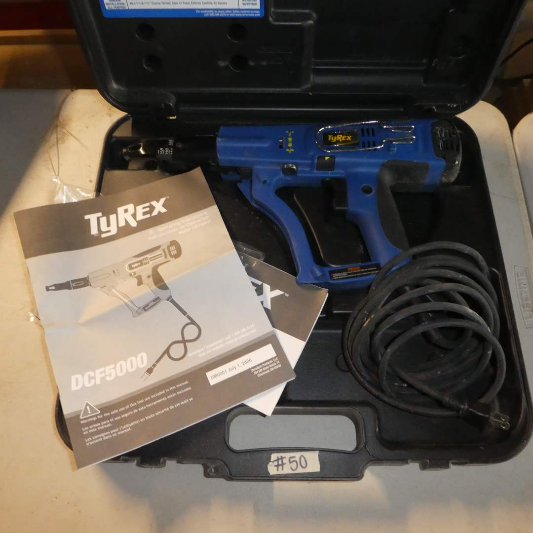 Lot # 50 - TyRex Collated Screw Driver (DCF5000)