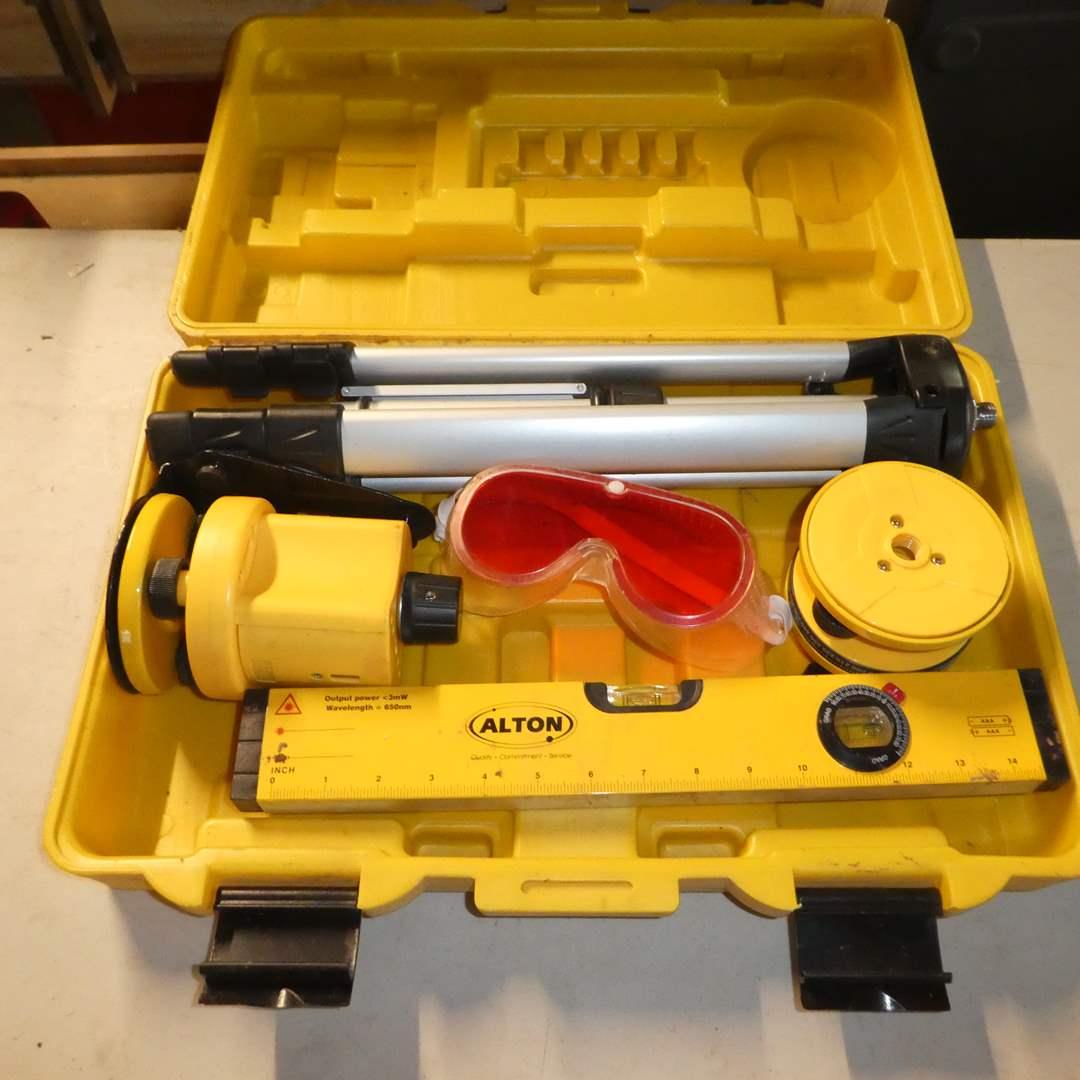 Lot # 54 - Alton Professional Multi- Beam & Rotary Laser Level Kit