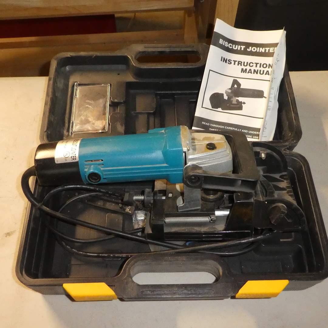 Lot # 55 - 100MM Biscuit Jointer  (main image)