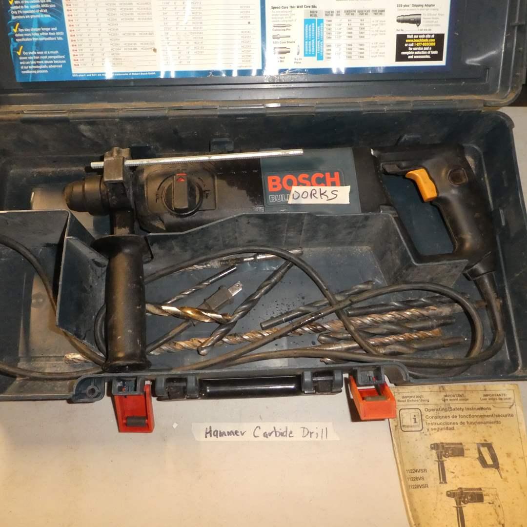 Lot # 56 - Bocsh Hammer Carbide Drill