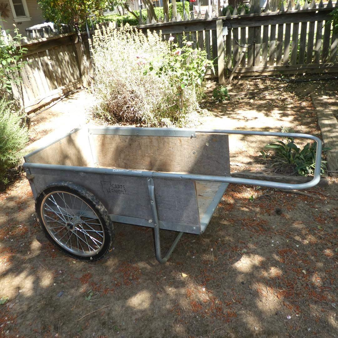 Lot # 107 - Garden Cart by Carts Vermont