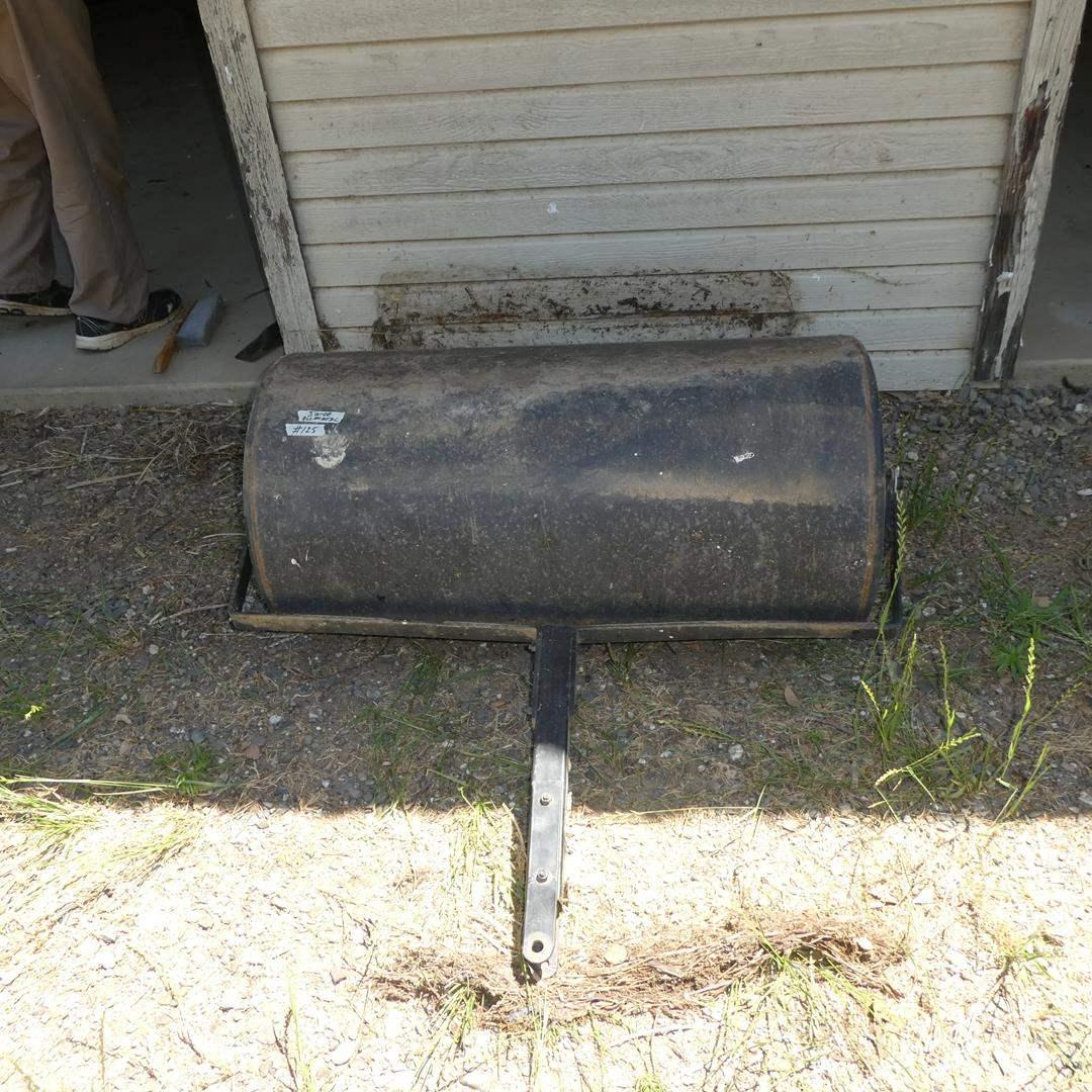 Lot # 125 - Heavy Duty Steel Lawn Roller (main image)