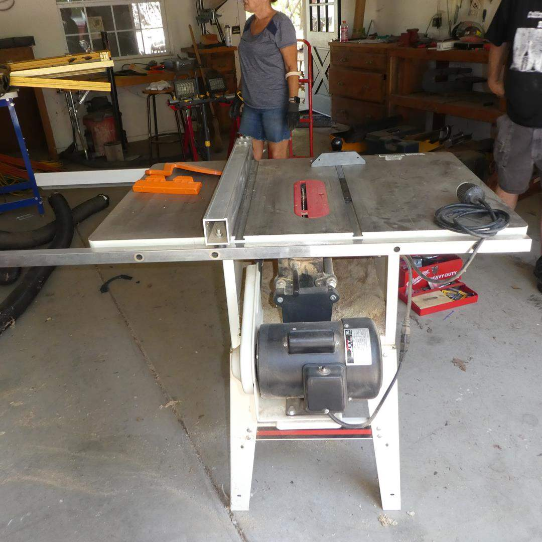 """Lot # 131 - JET 10"""" Table Saw w/Precision Fence (main image)"""