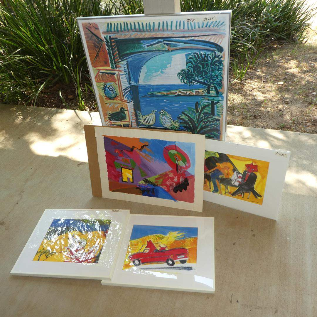 Lot # 149 - Picasso Print, Art Prints & Abstract Paintings
