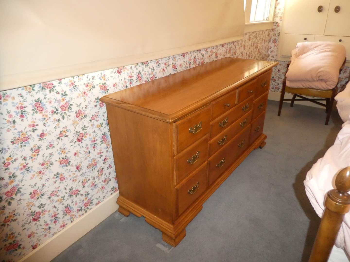 Lot # 16 - Large Solid Wood Dresser(Dovetailed Drawers) (main image)