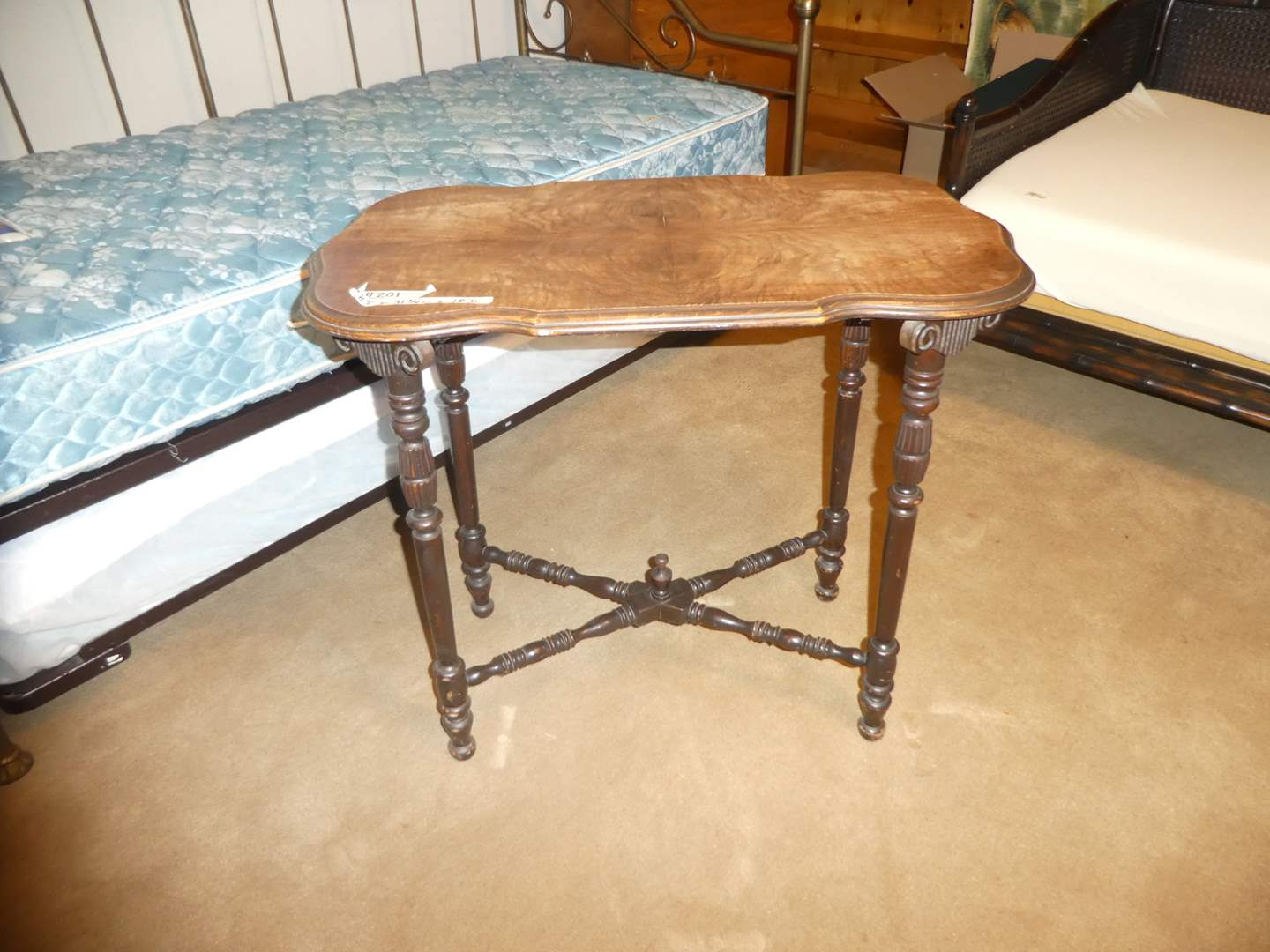 Lot # 201 - Vintage Accent Table  (main image)