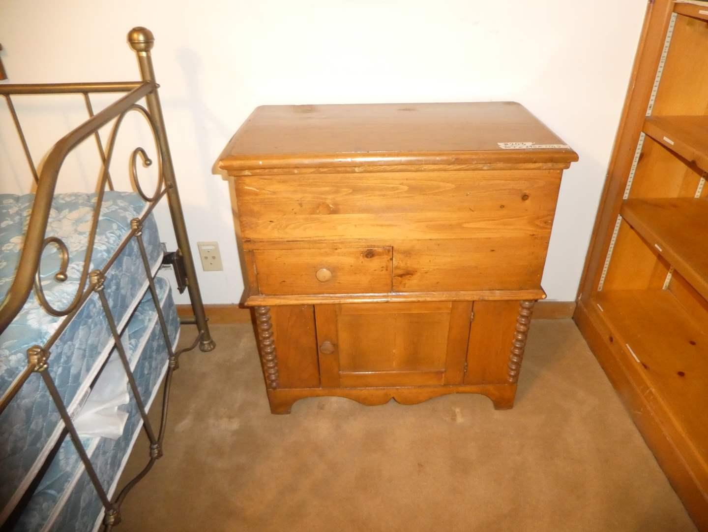 Lot # 204 - Vintage/Antique Unusual Farmhouse Cabinet  (main image)