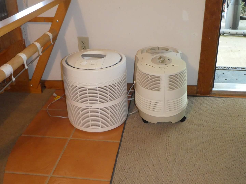 Lot # 210 - Two Honeywell Air Purifiers  (main image)
