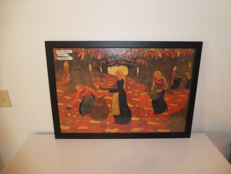 Lot # 221 -  Unique Framed Print (main image)