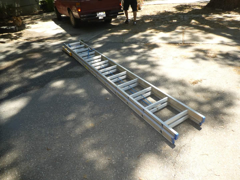 Lot # 227 - 24 Ft. Werner Equalizer Extension Ladder (main image)