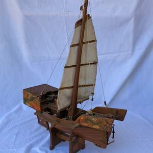 Lot # 11 -  Chinese Model Boat