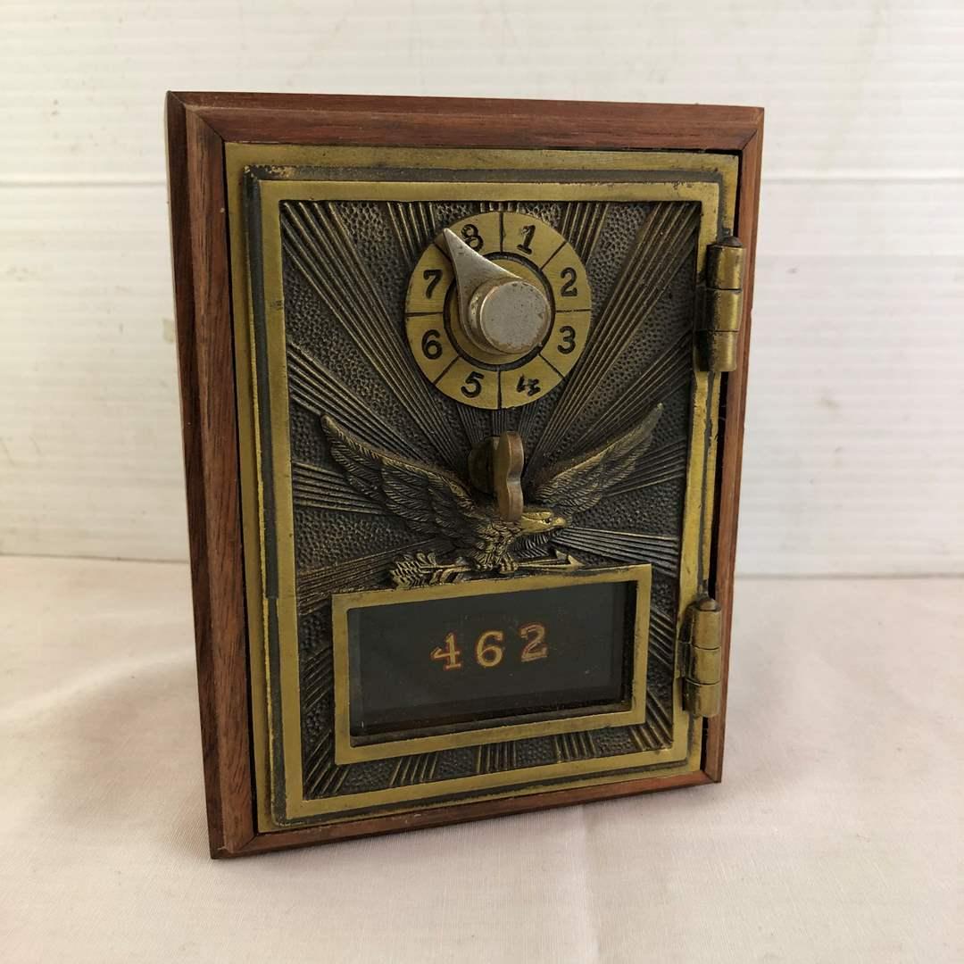 Lot # 15 - Post Office Lockbox Coin Bank