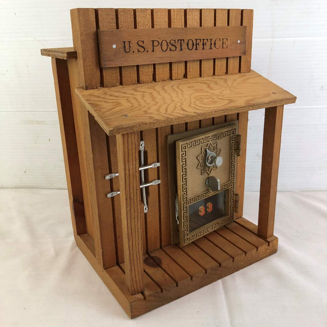 Lot # 17 - Post Office Lockbox Coin Bank