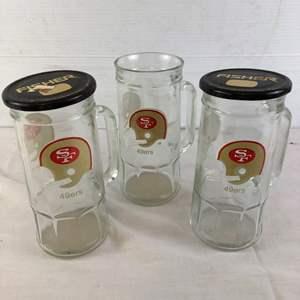 Lot # 23 - 49ers Glasses