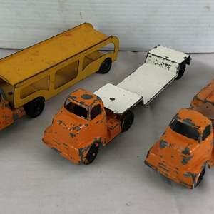 Lot # 30 - Lot of vintage toy trucks