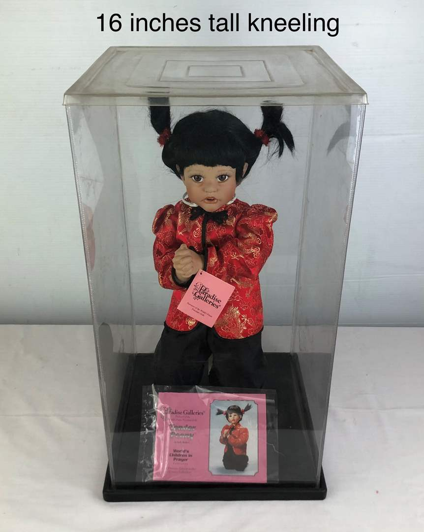 Lot # 48 - Paradise Galleries·Porcelain Doll Tender Peony (main image)